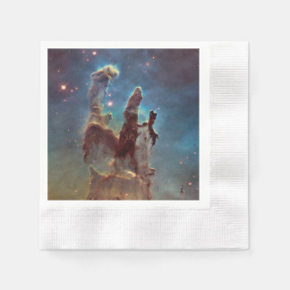 Pillars of creation coined cocktail napkin