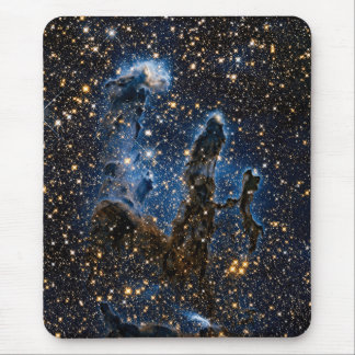Pillars Of Creation Eagle Nebula Near Infrared Mouse Pad