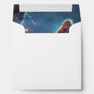 Pillars of creation envelope