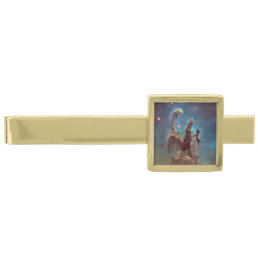 Pillars of Creation Gold Finish Tie Clip