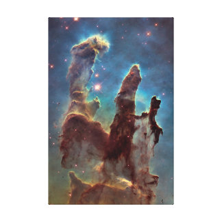 Pillars of Creation Large Vertical Canvas Print