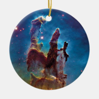 Pillars of Creation M16 Eagle Nebula Ceramic Ornament
