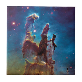Pillars of Creation M16 Eagle Nebula Space Photo Ceramic Tile