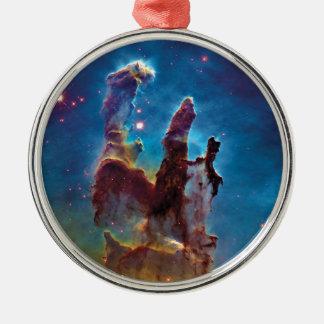 Pillars of Creation M16 Eagle Nebula Space Photo Metal Ornament