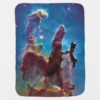 Pillars of Creation M16 Eagle Nebula Space Photo Receiving Blanket