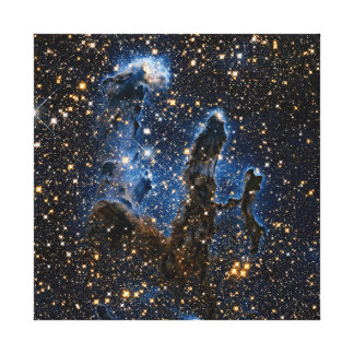 Pillars Of Creation Near-Infrared Canvas Print