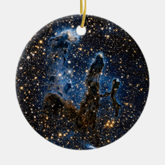Pillars Of Creation Near-Infrared Ceramic Ornament