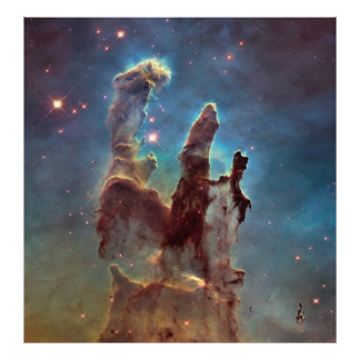 Pillars of creation photo print