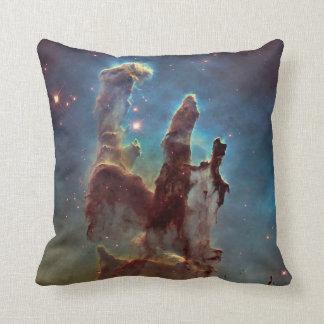 Pillars of creation throw pillows