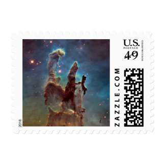 Pillars of creation postage stamp