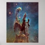 Pillars Of Creation Print Poster
