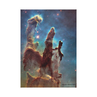 Pillars Of Creation Wrapped Canvas