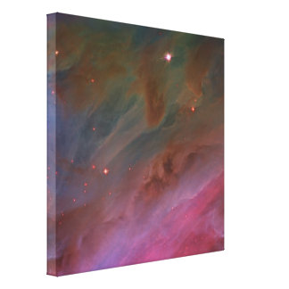 Pillars of Dust, Orion Nebula Canvas Print