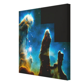 Pillars of Gas Gallery Wrap Canvas