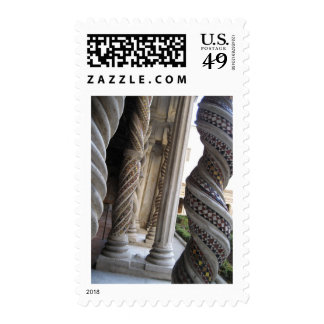 Pillars of St. Paul's Postage Stamps