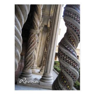 Pillars of St. Paul's Postcard