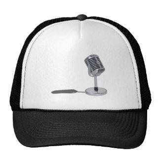 PillMicrophone042211 Trucker Hat