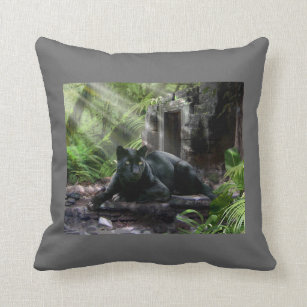 Black Panther In Jungle Home Decor Furnishings Pet Supplies Zazzle