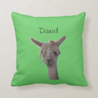 Pillow - Alpaca portrait