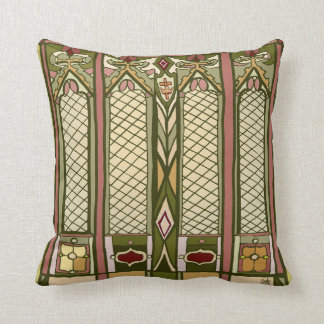 Pillow - (Arts and Crafts Style)