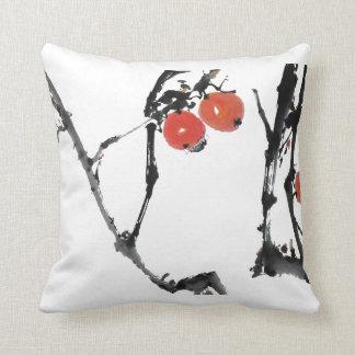 "Pillow ""Beetle on apple"""