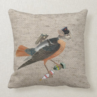 pillow | bird with vodka and little atomic bomb