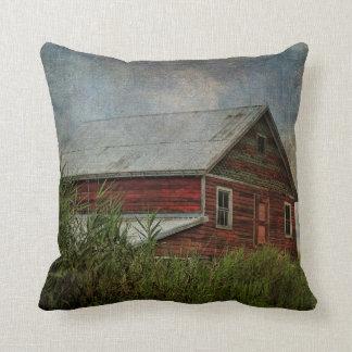 Pillow-Black Dirt Barn Throw Pillow