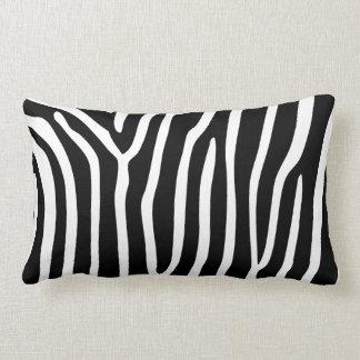 Pillow Black White Zebra Stripe Animal Print Throw Pillows
