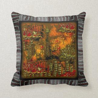 Pillow | Blazing City | Bead Print