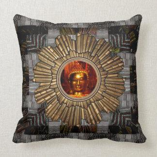 Pillow | Buddha Mandala digital collage