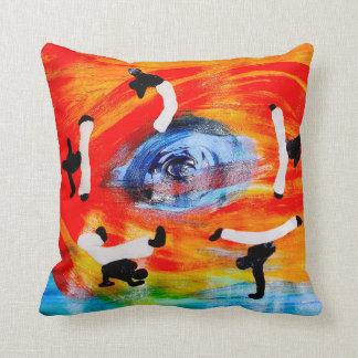 pillow capoeira martial arts sun