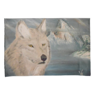 Pillow cases, young wolf pillow case