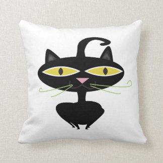 Pillow Cat American MoJo Throw Pillows