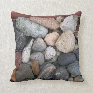 Pillow/Cushion-Rocks # 2. © Roseanne Pears 2012. Pillow