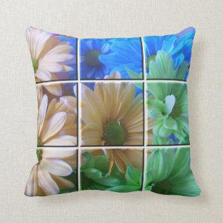 Pillow - Daisy Tile Look 1