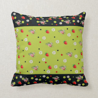 Pillow De American Gravy, fruits and flowers