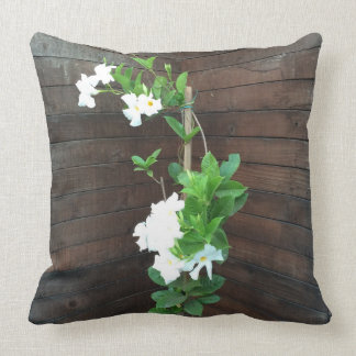 Pillow - Delicate White Flowers