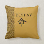 PILLOW DESTINY DESIGN at Zazzle