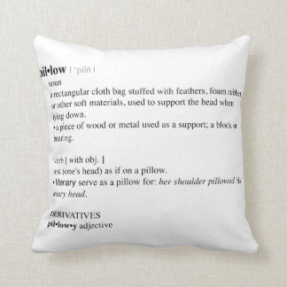 Pillow dictionary definition