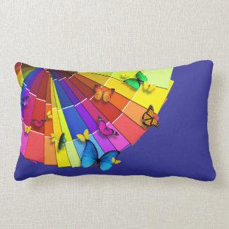 "Pillow ""Fan of butterflies """