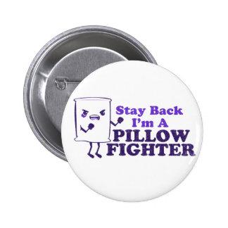 pillow fight pinback buttons