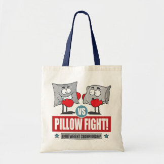 Pillow Fight! Tote Bag