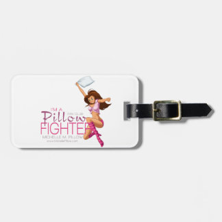 Pillow Fighters Fan Club Bag Tag