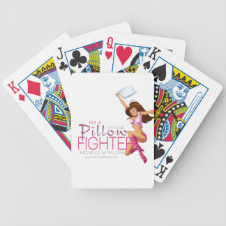 Pillow Fighters Fan Club Bicycle Playing Cards