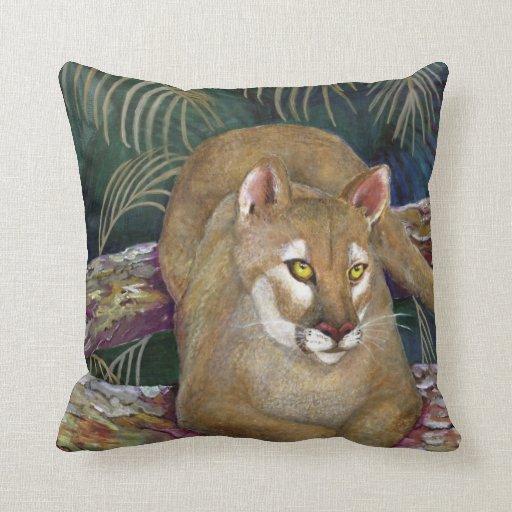 Pillow - Florida Panther Design
