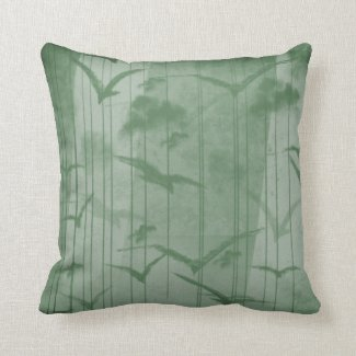 Pillow Forest Birds