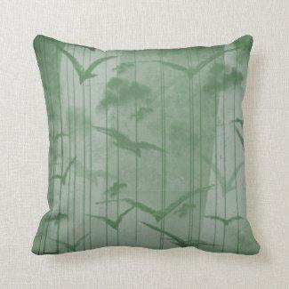 Pillow Forest Birds
