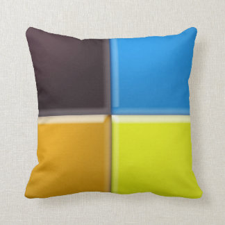 Pillow - Four colored Squares