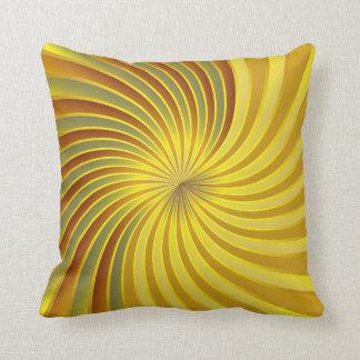 Pillow gold spiral vortex