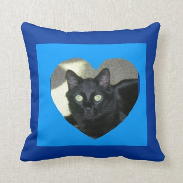 Pillow - Heart Photo Frame